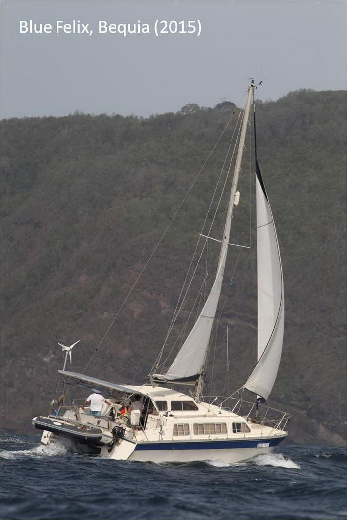 sailing catamaran review, catamaran review, catalac 10m cruising catamaran