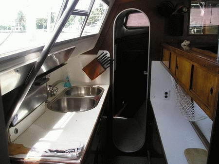 Catalac 12M Galley