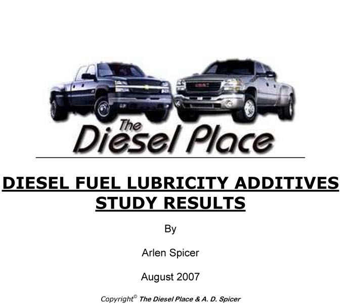 fuel additives for marine diesel engines